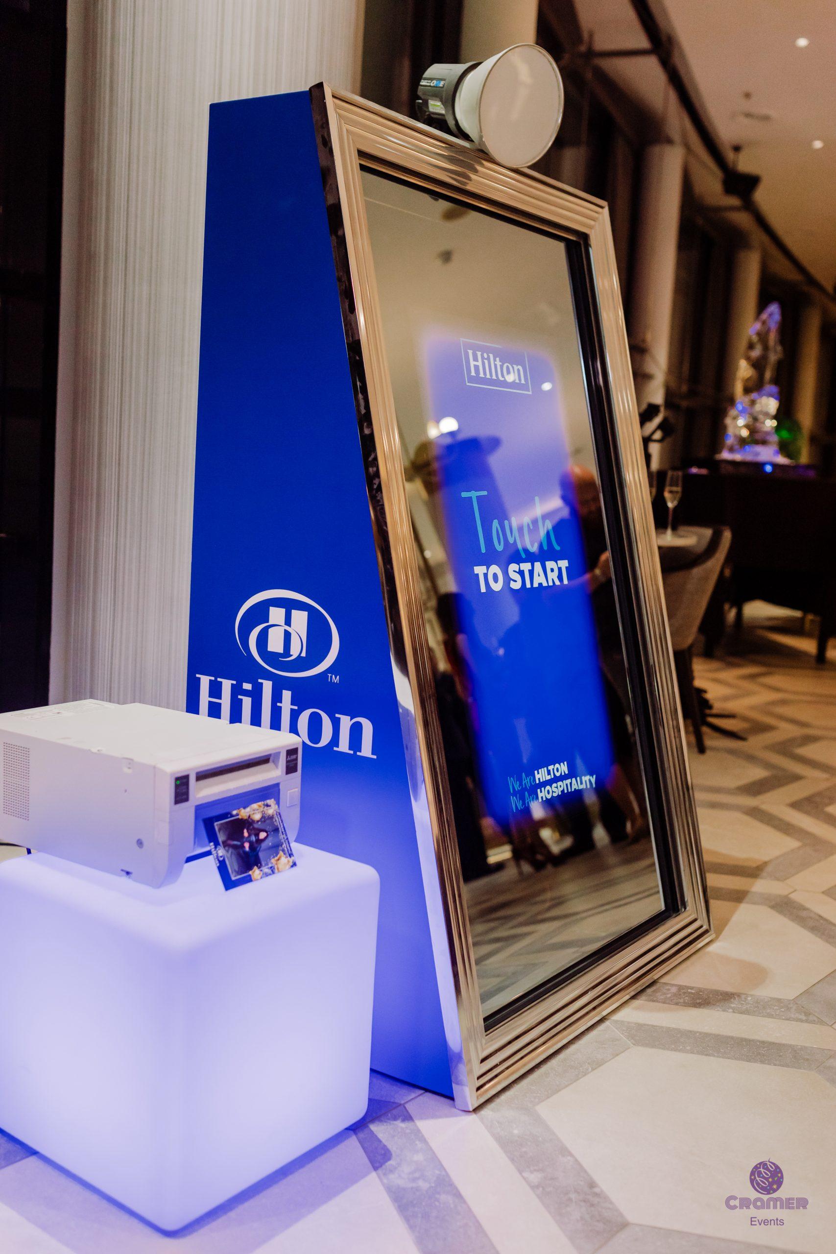 Cramer Events Hilton Magnificence Mirror
